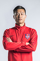**EXCLUSIVE**Portrait of Chinese soccer player Wang Min of Chongqing Dangdai Lifan F.C. SWM Team for the 2018 Chinese Football Association Super League, in Chongqing, China, 27 February 2018.
