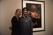 FRANCES DUNSCOMBE; JOSH REDMAN Private view of the Taylor Wessing Portrait prize, National Portrait Gallery, London.  15 November 2016