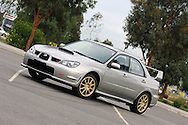 2006 Subaru MY06 Subaru Impreza WRX STI - Crystal Grey.Thomastown, Victoria, Australia.9th of January 2006.(C) Joel Strickland Photographics.Use information: This image is intended for Editorial use only (e.g. news or commentary, print or electronic). Any commercial or promotional use requires additional clearance.