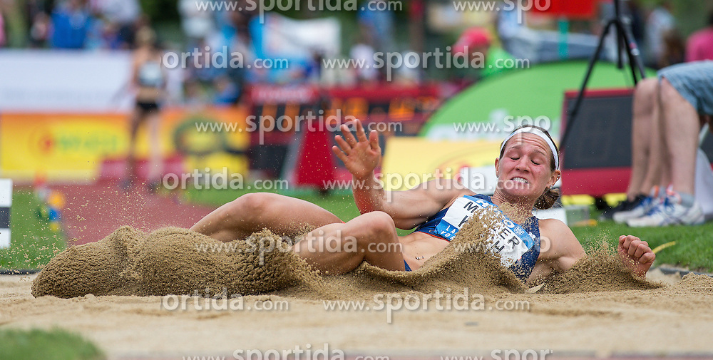 29.05.2016, Moeslestadion, Goetzis, AUT, 42. Hypo Meeting Goetzis 2016, Siebenkampf der Frauen, Weitsprung, im Bild Heather Miller Koch (USA) // Heather Miller Koch of United States during the long jump event of the Heptathlon competition at the 42th Hypo Meeting at the Moeslestadion in Goetzis, Austria on 2016/05/29. EXPA Pictures © 2016, PhotoCredit: EXPA/ Peter Rinderer