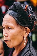 Grandmother at Dao village nearby La Vie Eco Resort, Thac Ba Lake