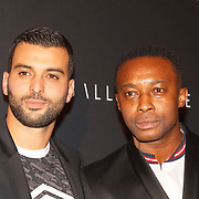NLD/Amsterdam/20151110 - Life After Football Award 2015, Soufian Asafiati en Regi Blinker