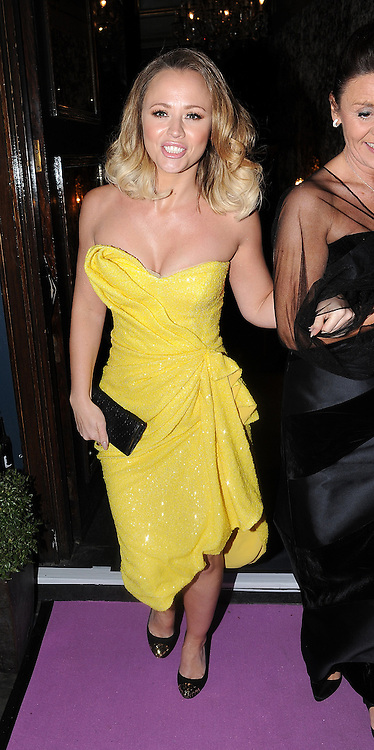 Kimberley Walsh attends a fundraising event for The Haven breast cancer support centre, held at Cafe De Paris in London, UK. 30/04/2013<br />BYLINE MUST READ : GOTCHAIMAGES.COM<br /><br />Copyright by &copy; Gotcha Images Ltd. All rights reserved.<br />Usage of this image is conditional upon the acceptance <br />of Gotcha Images Ltd, terms and conditions available at<br />www.gotchaimages.com