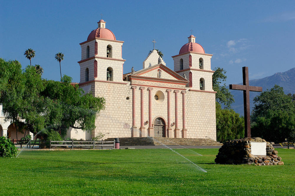 Old Mission Santa Barbara, Santa Barbara, California, United States of America