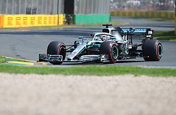 MELBOURNE, March 16, 2019  Mercedes' driver Lewis Hamilton competes during the Qualifying session of Formula 1 Australian Grand Prix 2019 at the Albert Park in Melbourne, Australia, March 16, 2019. (Credit Image: © Bai Xuefei/Xinhua via ZUMA Wire)