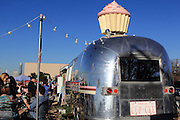 This is Hey Cupcake! - a cupcake seller in an airstream trailer on South Congress, in South Austin