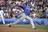 CHICAGO - MAY 17:  Bobby Parnell #39 of the New York Mets pitches against the Chicago Cubs on May 17, 2013 at Wrigley Field in Chicago, Illinois.  The Mets defeated the Cubs 3-2.  (Photo by Ron Vesely/MLB Photos via Getty Images)  *** Local Caption *** Bobby Parnell