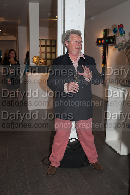 DAVID LITCHFIELD, Vogue's Fashion night out special opening of the Halcyon Gallery.  New Bond St. London. 6 December 2012.