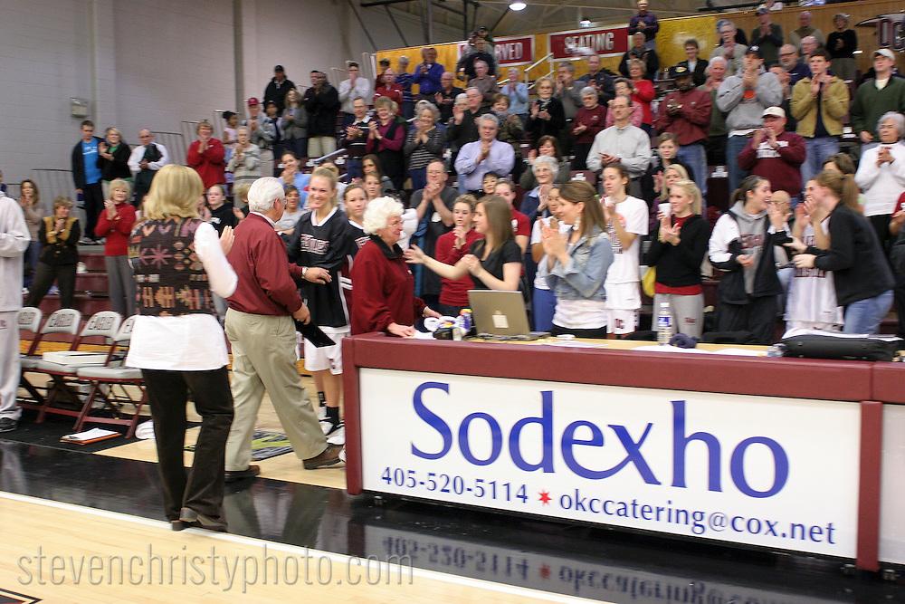 OC Basketball Senior Night.February 15, 2007