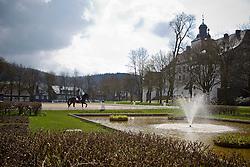 Zu Sayn - Wittgenstein Nathalie (DEN) - Digby<br /> Schloss Berleburg - Bad Berleburg 2012<br /> © Dirk Caremans