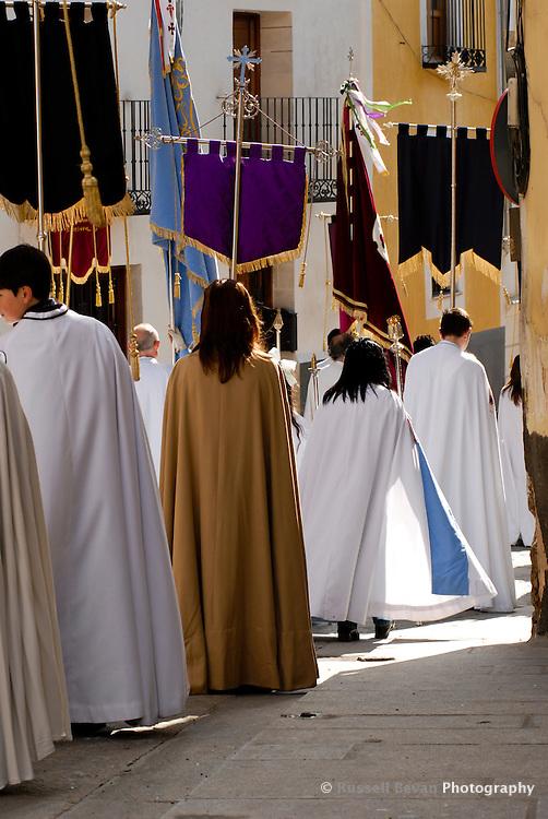 Semana Santa Procession in Cuenca, Spain