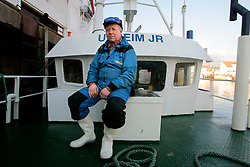 NORWAY LOFOTEN 27MAR07 - Portrait of fisherman Sigbj?rn Utheim on his boat, the Utheim Junior in Henningsvaer port on the Lofoten islands...jre/Photo by Jiri Rezac..© Jiri Rezac 2007..Contact: +44 (0) 7050 110 417.Mobile:  +44 (0) 7801 337 683.Office:  +44 (0) 20 8968 9635..Email:   jiri@jirirezac.com.Web:    www.jirirezac.com..© All images Jiri Rezac 2007 - All rights reserved.