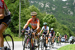 Karol-Ann Canuel (Boels Dolmans) at Giro Rosa 2016 - Stage 6. A 118.6 km road race from Andora to Alassio, Italy on July 7th 2016.