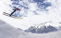 24.02.2019, Bergiselschanze, Innsbruck, AUT, FIS Weltmeisterschaften Ski Nordisch, Seefeld 2019, Skisprung, Herren, Teambewerb, Probesprung, im Bild Stefan Kraft (AUT) // Stefan Kraft of Austria during the during the trial jump for the men's skijumping team competition of FIS Nordic Ski World Championships 2019 at the Bergiselschanze in Innsbruck, Austria on 2019/02/24. EXPA Pictures © 2019, PhotoCredit: EXPA/ JFK
