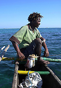 Fisherman in Anakao. Tuléar