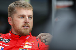 November 16, 2018 - Homestead, Florida, U.S. - Justin Allgaier (7) hangs out in the garage during practice for the Ford 300 at Homestead-Miami Speedway in Homestead, Florida. (Credit Image: © Chris Owens Asp Inc/ASP)