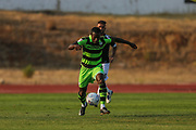 Forest Green Rovers Dale Bennett(2) runs forward during the Pre-Season Friendly match between SC Farense and Forest Green Rovers at Estadio Municipal de Albufeira, Albufeira, Portugal on 25 July 2017. Photo by Shane Healey.