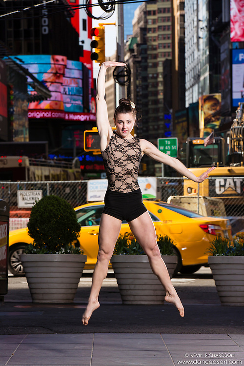 Times Square Dance As Art- The New York City Dance Photography Project with Darielle Lopret- Taxi