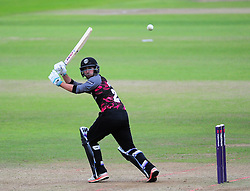 Lewis Gregory of Somerset in action.  - Mandatory by-line: Alex Davidson/JMP - 15/07/2016 - CRICKET - Cooper Associates County Ground - Taunton, United Kingdom - Somerset v Middlesex - NatWest T20 Blast