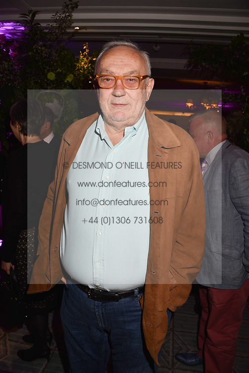 Pierre Koffman at the 2017 Fortnum &amp; Mason Food &amp; Drink Awards held at Fortnum &amp; Mason, Piccadilly London England. 11 May 2017.<br /> Photo by Dominic O'Neill/SilverHub 0203 174 1069 sales@silverhubmedia.com