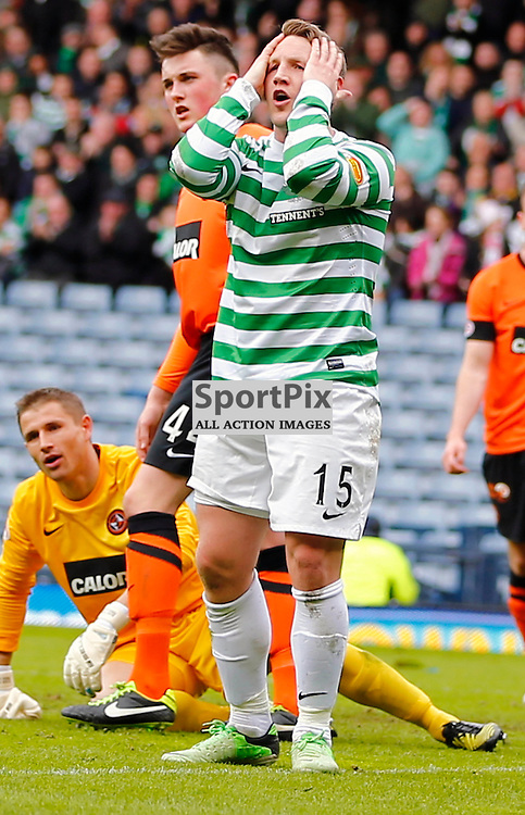 Dundee United v Celtic Scottish Cup Semi Final..Kris Commons rues missing the goal......(c) STEPHEN LAWSON | StockPix.eu