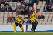 Johann Myburgh of Somerset batting during the NatWest T20 Blast South Group match between Hampshire County Cricket Club and Somerset County Cricket Club at the Ageas Bowl, Southampton, United Kingdom on 18 August 2017. Photo by Dave Vokes.
