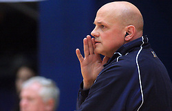 Coach of ACH Glenn Hoag at finals of Slovenian volleyball cup between OK ACH Volley and OK Salonit Anhovo Kanal, on December 27, 2008, in Nova Gorica, Slovenia. ACH Volley won 3:2.(Photo by Vid Ponikvar / SportIda).