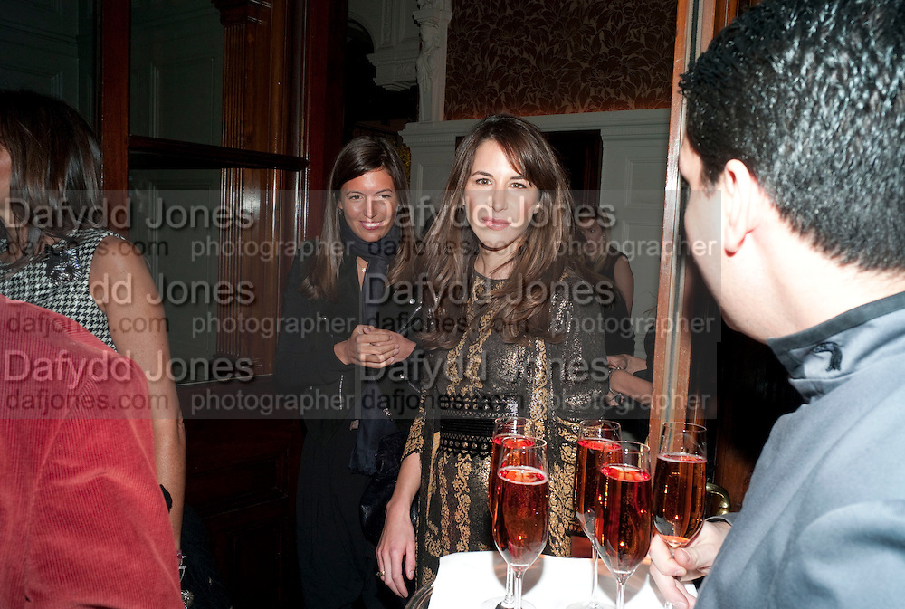 AMANDA SHEPPARD; CAROLINE SIEBER, Graydon and Anna Carter host a lunch for Carolina Herrera to celebrate the ipening of her new shop on Mount St. .The Connaught. London. 20 January 2010