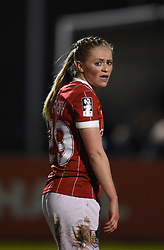 Millie Farrow of Bristol City Women - Mandatory by-line: Paul Knight/JMP - 28/03/2018 - FOOTBALL - Stoke Gifford Stadium - Bristol, England - Bristol City Women v Birmingham City Ladies - FA Women's Super League