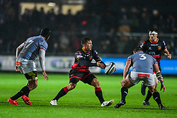 Dragons' Gavin Henson in action - Mandatory by-line: Craig Thomas/JMP - 30/09/2017 - RUGBY - Rodney Parade - Newport, Gwent, Wales - Newport Gwent Dragons v Southern Kings - Guinness Pro 14