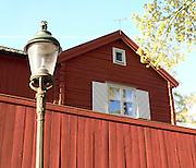 Lykta och stuga på Lotsgatan, Åsöberget i Stockholm.