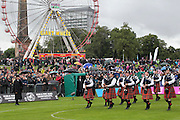 Greater Glasgow Police at the 2014 World Pipe Band Championship