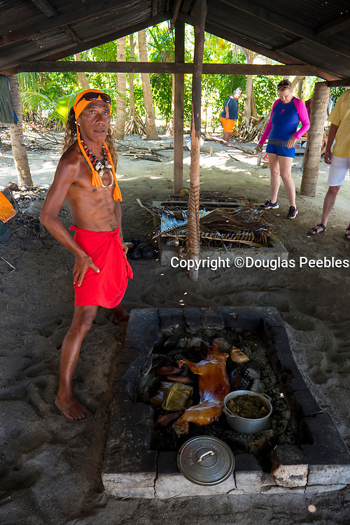 Polynesian Feast, Bora, Bora, French Polynesia, South Pacific