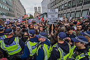 A temporary kettle is put in place in Victoria Street - A student march against fees and many other issues starts in Malet Street and heads for Westminster via the West End.