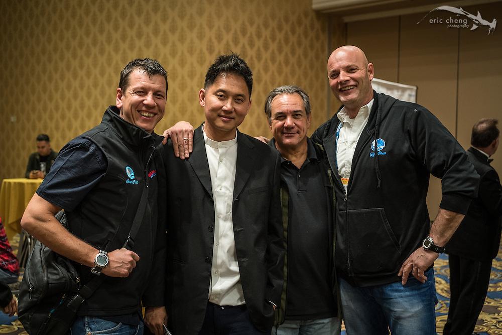 Mark Shandur, John Thet, Todd Essick, Frank Van Der Linde (DEMA 2016, Las Vegas)