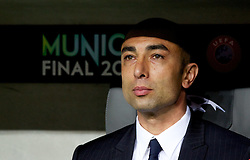 19.05.2012, Allianz Arena, Muenchen, GER, UEFA CL, Finale, FC Bayern Muenchen (GER) vs FC Chelsea (ENG), im Bild Chelsea's manager Roberto Di Matteo before the Final Match of the UEFA Championsleague between FC Bayern Munich (GER) vs Chelsea FC (ENG) at the Allianz Arena, Munich, Germany on 2012/05/19. EXPA Pictures © 2012, PhotoCredit: EXPA/ Propagandaphoto/ Vegard Grott..***** ATTENTION - OUT OF ENG, GBR, UK *****