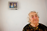 Eleftheria Gaglia, 95, lives in Evdilos..Untill a few years ago, she used to put fresh goat milk on her face, as a way to hydrate the skin.