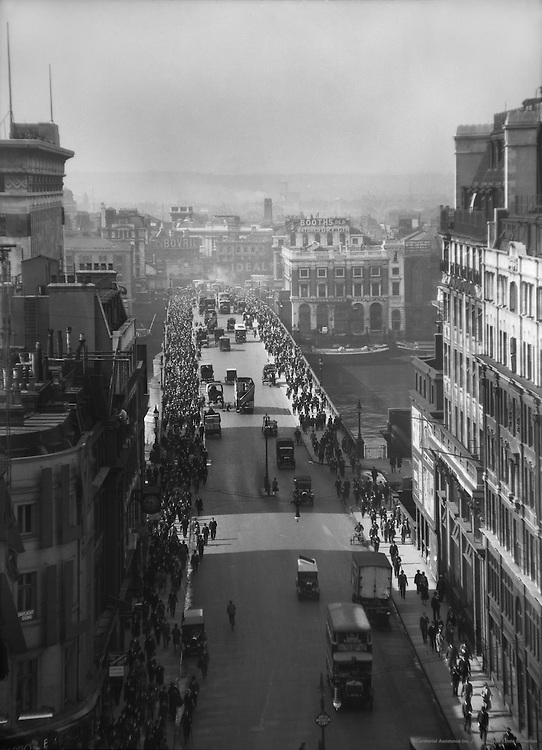 London Bridge, View from Lloyd's Building, London, 1925