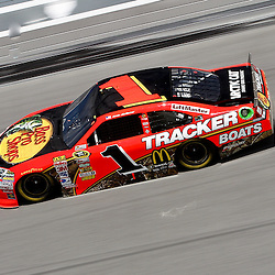 April 16, 2011; Talladega, AL, USA; NASCAR Sprint Cup Series driver Jamie McMurray (1) during qualifying for the Aarons 499 at Talladega Superspeedway.   Mandatory Credit: Derick E. Hingle