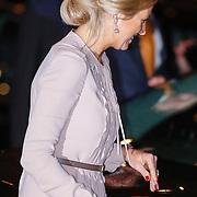 NLD/Utrecht/20130201 - Vertrek 75ste verjaardagfeest  Koninging Beatrix, prinses Maxima