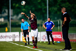 Tilen Mlakar of NK Triglav during football match between NK Triglav and NK Domzale in 9th Round of Prva liga Telekom Slovenije 2019/20, on September 15, 2019 in Sport park Kranj, Kranj, Slovenia. Photo by Grega Valancic / Sportida