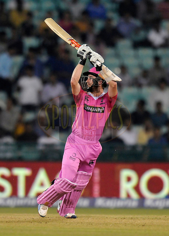 Kane Williamson of Northern Knights bats during match 3 of the Oppo Champions League Twenty20 between the Cape Cobras and the Northern Knights held at the Chhattisgarh International Cricket Stadium, Raipur, India on the 19th September 2014<br /> <br /> Photo by:  Pal Pillai / Sportzpics/ CLT20<br /> <br /> <br /> Image use is subject to the terms and conditions as laid out by the BCCI/ CLT20.  The terms and conditions can be downloaded here:<br /> <br /> http://sportzpics.photoshelter.com/gallery/CLT20-Image-Terms-and-Conditions-2014/G0000IfNJn535VPU/C0000QhhKadWcjYs