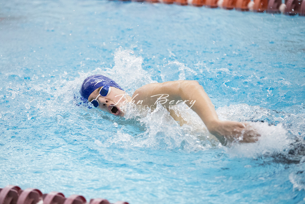 February 22, 2016.  <br /> VHSL 2A State Swim Preliminaries at Christiansburg Aquatic Center