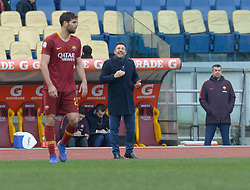 January 19, 2019 - Rome, Italy - Eusebio Di Francesco during the Italian Serie A football match between A.S. Roma and F.C. Torino at the Olympic Stadium in Rome, on january 19, 2019. (Credit Image: © Silvia Lore/NurPhoto via ZUMA Press)