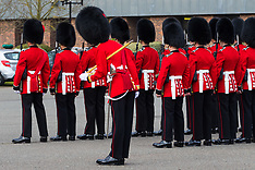 2018-02-21 SWNS- Coldstream Guards inspection parade