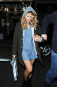 06.OCTOBER.2010 - LONDON<br /> <br /> BILLIE PIPER LEAVING THE MAYFAIR HOTEL AFTER FILMING SCENES FROM SHOW SECERET DIARY OF A CALL GIRL WEARING DENIM SHIRT AS A DRESS AND UGG BOOTS AND SHE HAS GOT A VERY BIG SPOT ON HER THIGH.<br /> <br /> BYLINE: EDBIMAGEARCHIVE.COM<br /> <br /> *THIS IMAGE IS STRICTLY FOR UK NEWSPAPERS & MAGAZINES ONLY*<br /> *FOR WORLDWIDE SALES & WEB USE PLEASE CONTACT EDBIMAGEARCHIVE - 0208 954 5968*