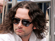 Show judge Constantine Maroulis appears at the Season 2 IFC 'Hottest Rocker Mom Contest' finale presentation on the Madison Square Park Traffic Island in New York City, USA on June 3, 2009.