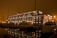 Trieste, Porto vecchio. Ex pescheria centrale oggi sede espositiva. Trieste, the Old Port. Ex central fish market, now seat for exhibitions.