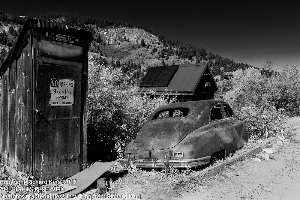 Ghost town images from Idaho