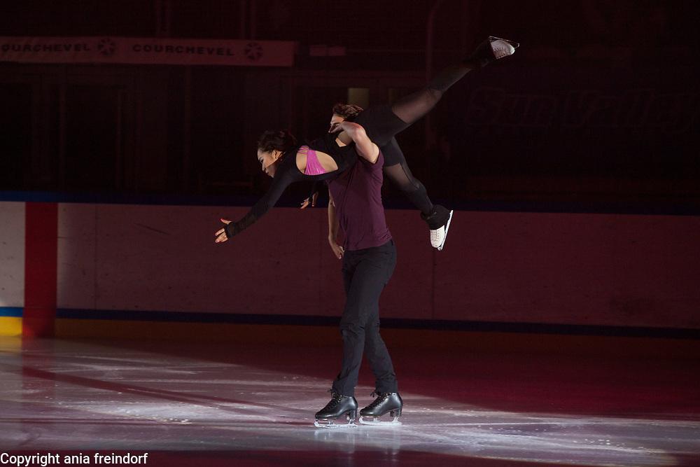 International Ice Skating Gala, Courchevel, France, 20 July 2017, Misato Komatsubara, Timothy Koleto, Members of National Team, Japan, 3rd Championship of Japan,
